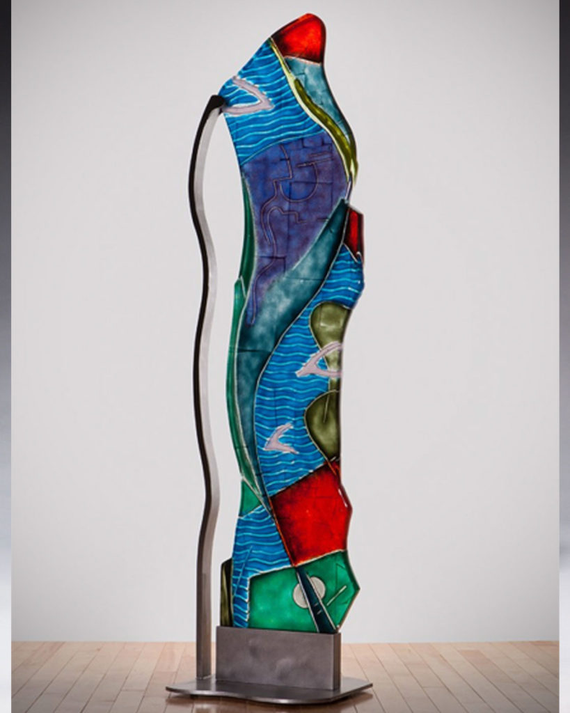 Glass Sculpture, Peter Zelle